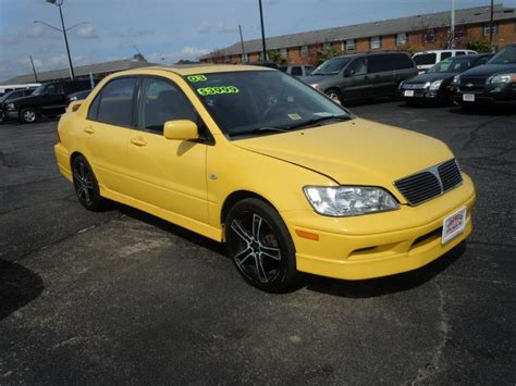 mitsubishi yellow yellow mitsubishi lancer for sale used cars on buysellsearch