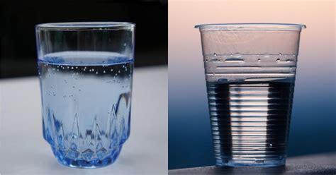 bicchieri di vetro bicchieri di plastica o di vetro domande impossibili