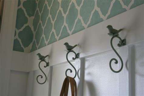 stenciled foyer home stories a to z