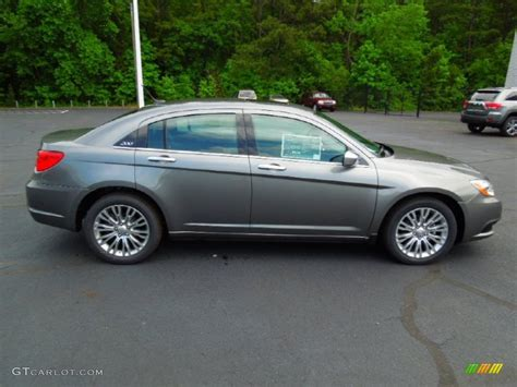 2012 Chrysler 200 Limited by Tungsten Metallic 2012 Chrysler 200 Limited Sedan Exterior
