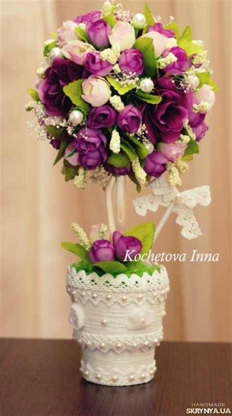 Bunga Dinding Tulip Spray цветочный топиарий home decorating tulip topiaries and bonsai