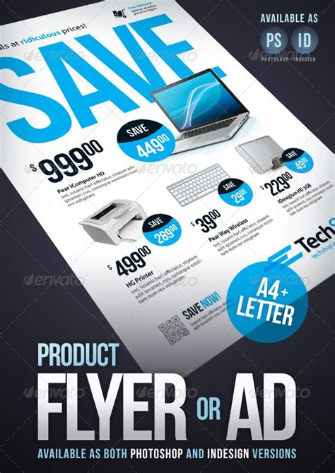 product advertisement template fantastic indesign flyer templates 56pixels