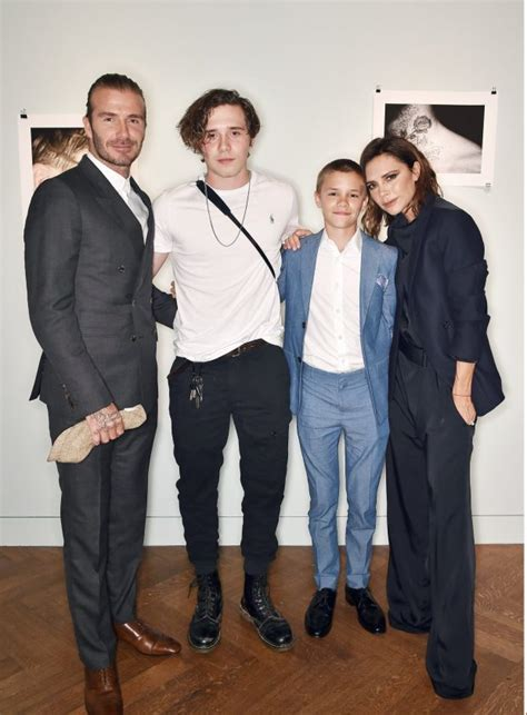 david beckham family biography brooklyn beckham s grandma parties with family to