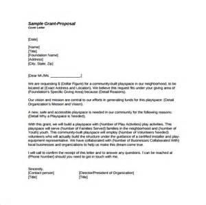 Image result for Grant proposal cover letter