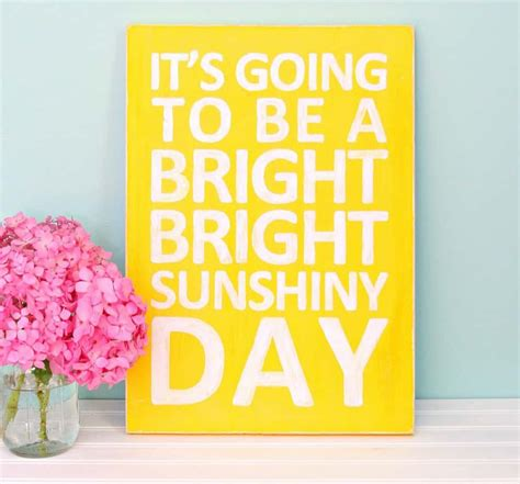 Wall Painters bright sunshiny day sign