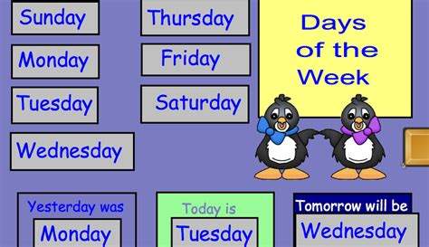 different days of week the busy kindergarten guided math ch 3 book study