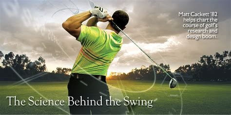 the science of the swing rensselaer magazine september 2008 quot the science behind