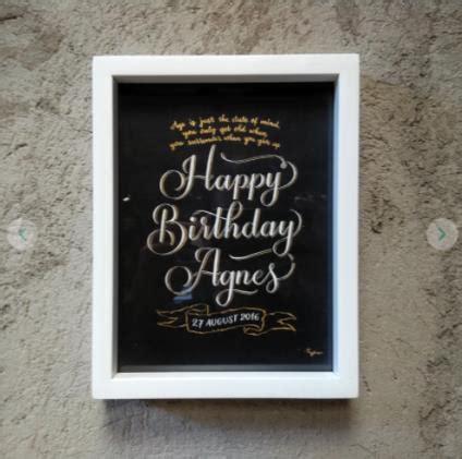 Kado Ulang Tahun Hiasan Dinding hadiah ulang tahun untuk wanita ini bisa kamu jadikan inspirasi