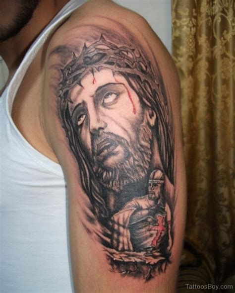 tattooed jesus jesus tattoos designs pictures page 19