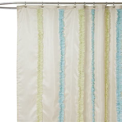 Curtains Blue Green Buy Blue And Green Fabric Shower Curtain From Bed Bath Beyond