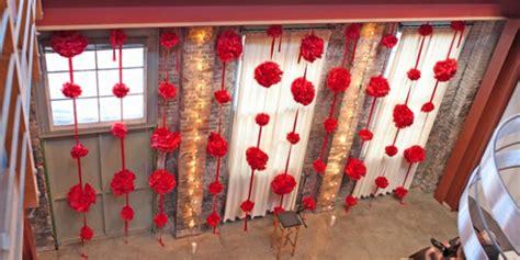 wedding backdrop design red ceremony backdrop inspiration the celebration society