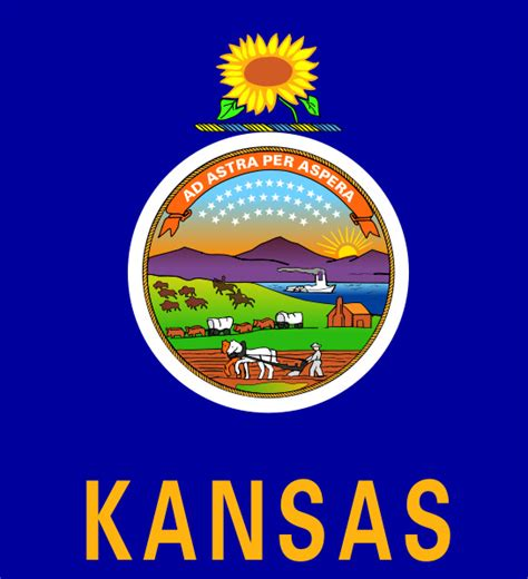 Kansas The 34th State by Kansas State Nickname The Sunflower State