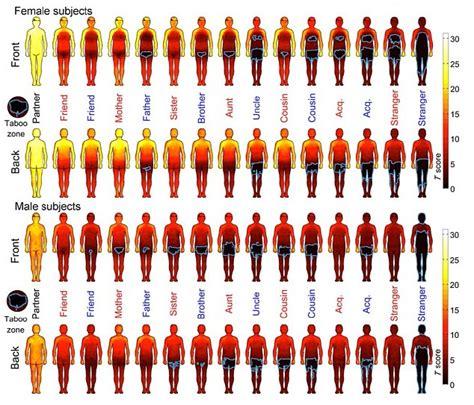 public area in body parts body map reveals chaps won t let male strangers near