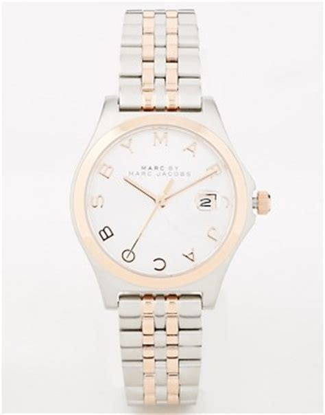 Marc By Marc S Mbm3353 Slim Two Tone Stainless Steel Watc marc by marc shop marc by marc for s