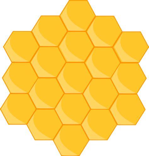 Madu Sarang Honey Comb 벌집 꿀벌 모양 183 pixabay의 무료 벡터 그래픽