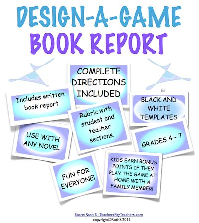 book report ideas for high school park