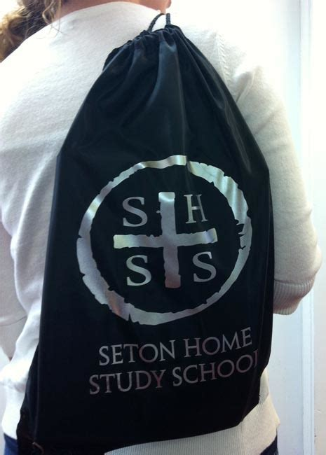 s h s s drawstring sports pack seton educational