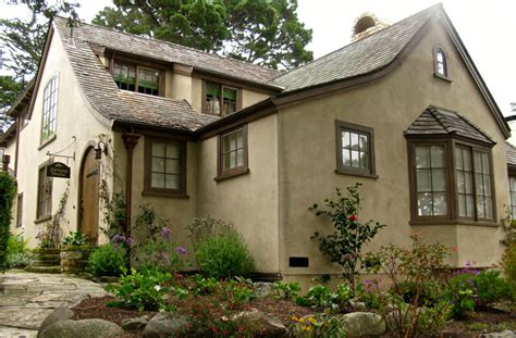 Craftsman Style House Plans With Wrap Around Porch tudor style stucco homes blue collar stucco