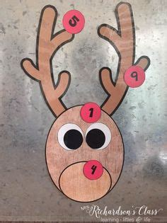 free printable pin the nose on rudolph the red nosed