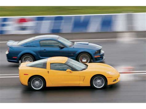 mustang 500r vs corvette autos post
