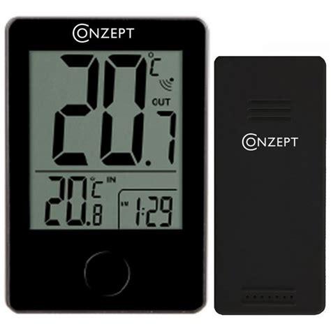 Termometer Electric k 248 b tr 229 dl 248 st termometer fra conzept m 229 ler inde og