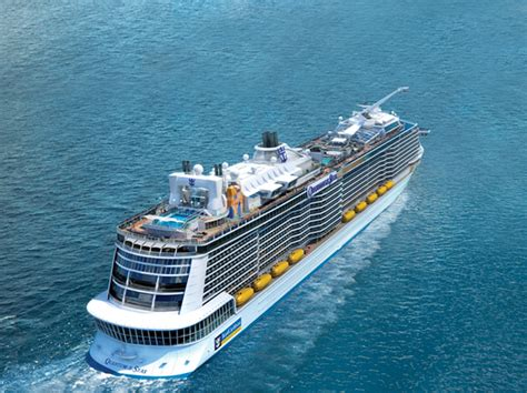 royal caribbeans newest ship royal caribbean international reveals groundbreaking