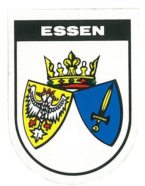 Aufkleber 60 X 60 by Aufkleber Wappen Essen 60 X 45 Mm Schneller Versand