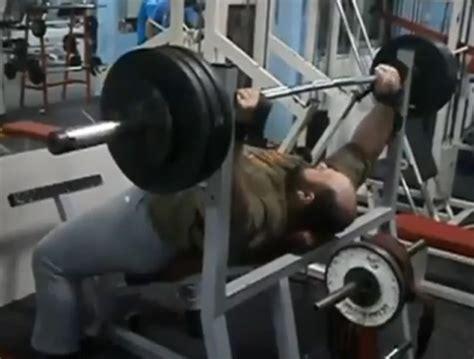belly bench press beer belly bench press strange beaver