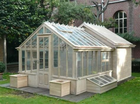Shed With Greenhouse by Greenhouse With Shed Grow