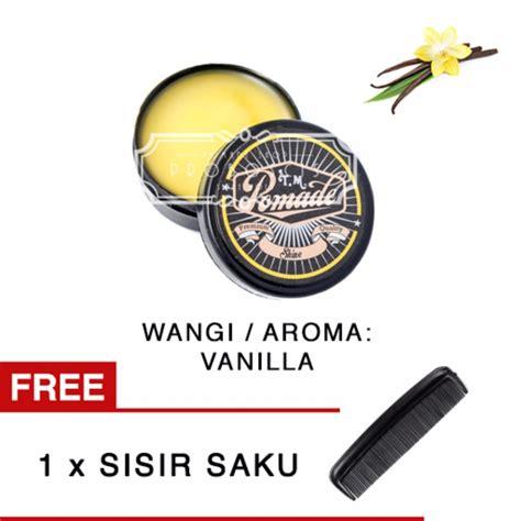 Pomade Qwx 55gram harga minyak rambut tm pomade shine 55gr vanilla terpopuler cara merawat rambut