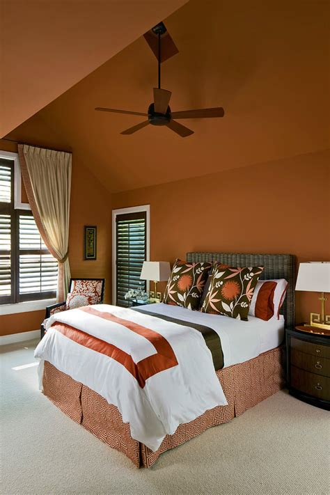 is orange a color for a bedroom 24 orange bedroom designs decorating ideas design