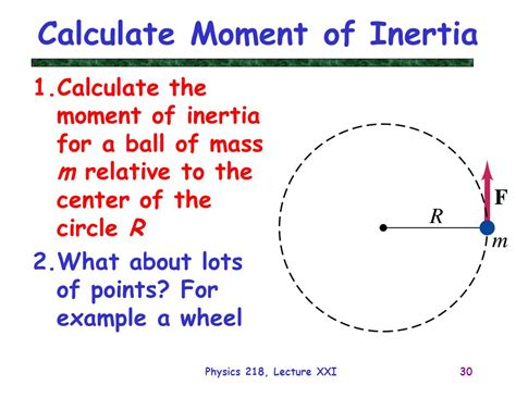 moment of inertia calculations images