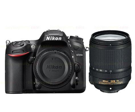 Nikon D7200 Kit Af S 18 140mm Vr new nikon d7200 digital slr af s dx 18 140mm ed
