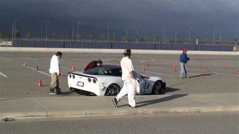 corvette crashes corvette crashes during an autocross event