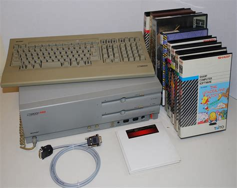 Tv Sharp Pro retro treasures the sharp x68000 pro