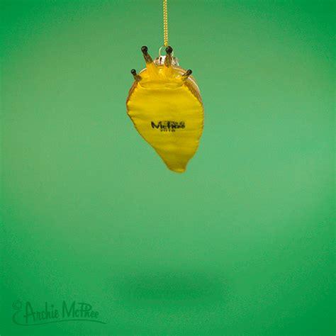 ornament gif banana slug ornament archie mcphee