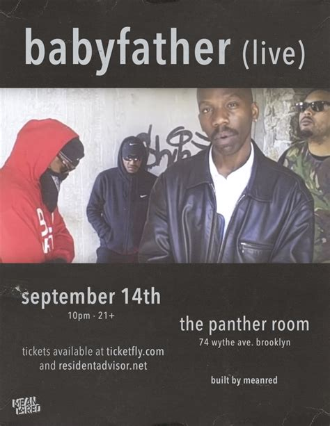 the panther room babyfather live at the panther room ny tickets