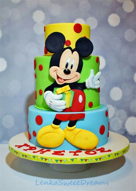 ideas  mickey cakes  pinterest mickey