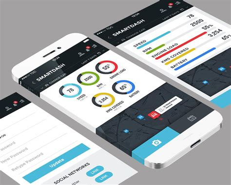 design application psd premium mobile application ui design psd ios android