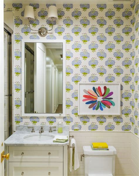 tilton fenwick puts a fresh spin on a traditional artist s 431 best walls images on pinterest wall papers bathroom