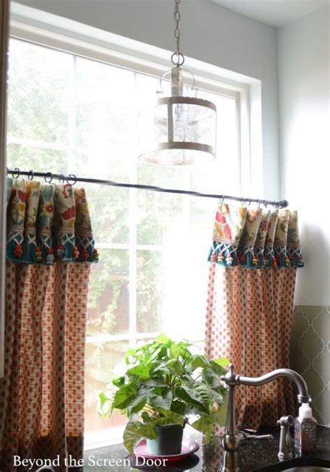 kitchen cafe curtains ideas 17 best images about window treatments on pinterest