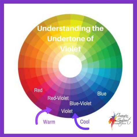 warm purple how to pick the undertone of purple inside out style