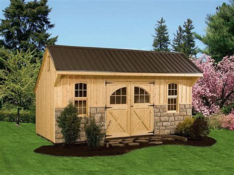 backyard barns garden buildings