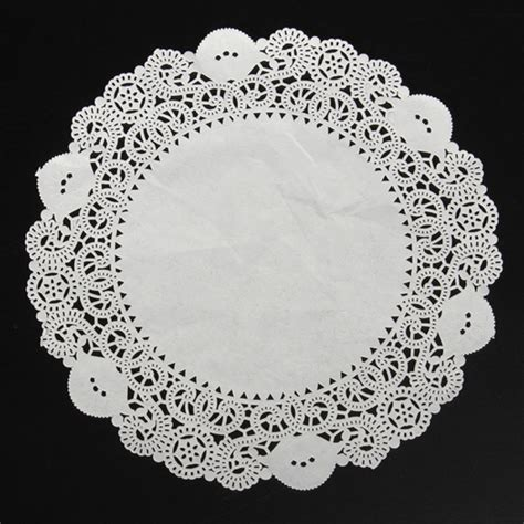 paper lace doilies crafts aliexpress buy 50pcs new 12 5 quot white lace