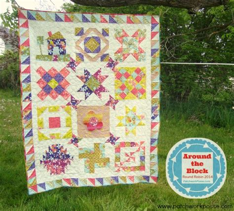 Finishing Quilts by Around The Block Robin Quilt Along Finishing The