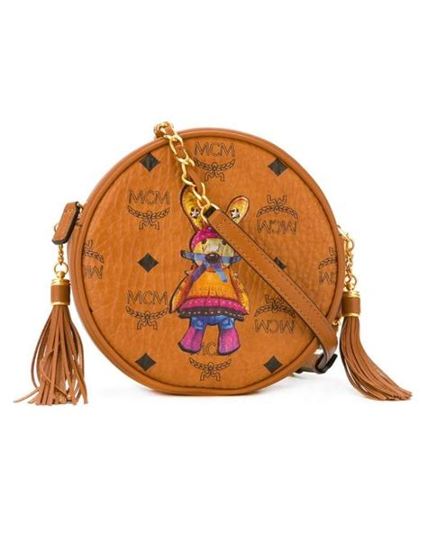 Mcm Medium Rabbit Crossbody Bag mcm rabbit crossbody bag in brown save 16 lyst
