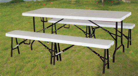 tavoli e panche pieghevoli tavoli e panche pieghevoli legno o pvc dehor garden
