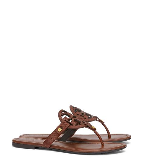 burch miller sandal burch miller sandal snake print leather in brown lyst