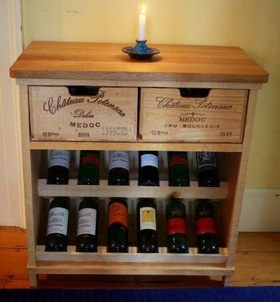 French Livingroom wine rack bois rustique