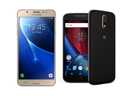 samsung galaxy j7 2016 vs motorola moto g4 plus comparison
